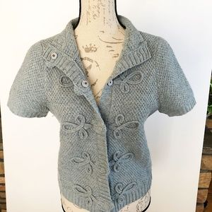 CHARLIE & ROBIN Sweater Cardigan light blue small